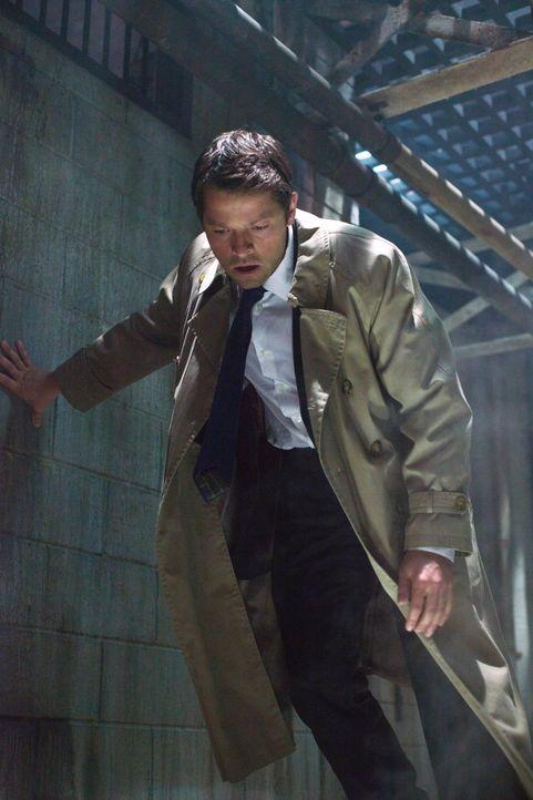 Ist Cas (Misha Collins) schon bereit, gegen Crowley zu kämpfen? - Bildquelle: Warner Bros. Television