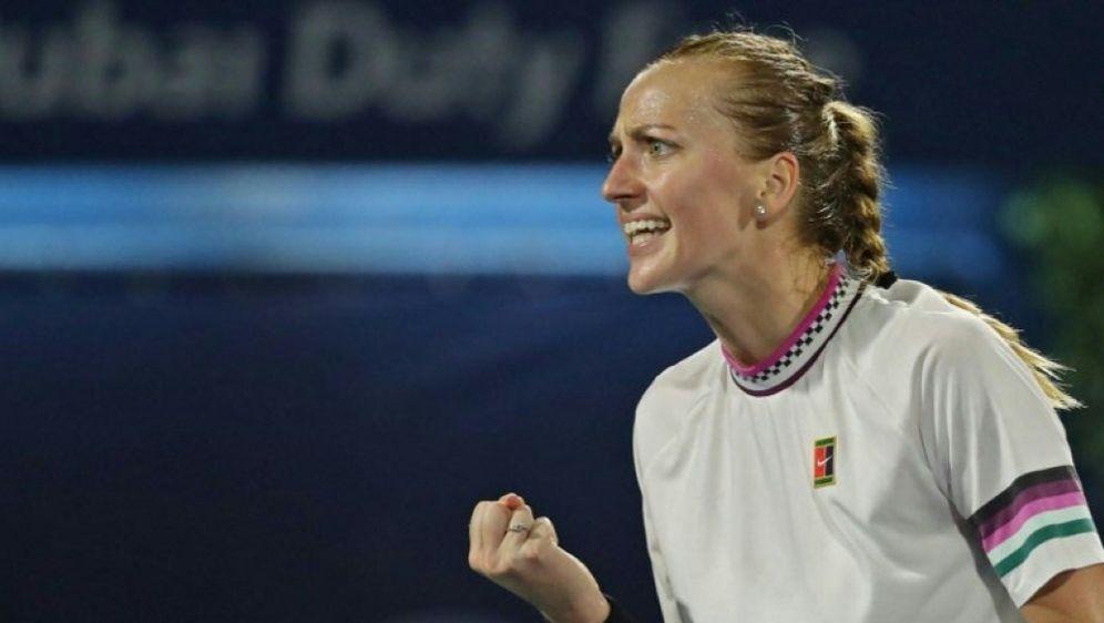 WTA: Petra Kvitova erreicht das Finale von Dubai - Bildquelle: AFPSIDKARIM SAHIB