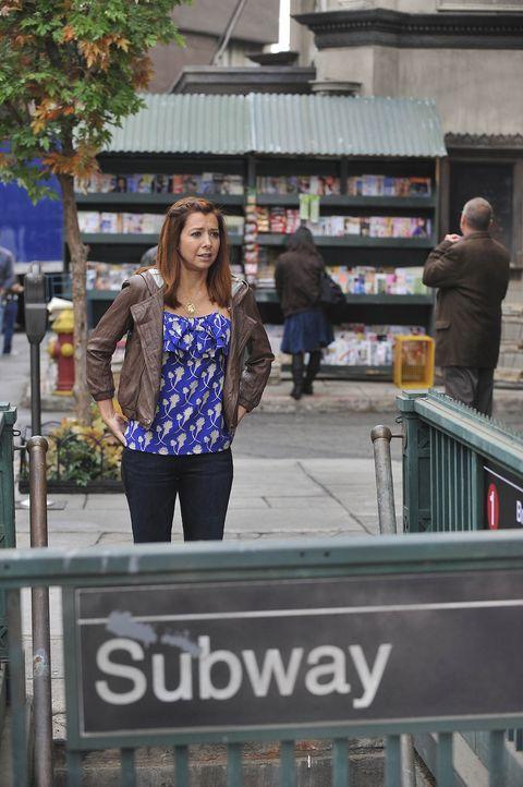 Hofft, auf ihren Sieg: Lily (Alyson Hannigan) ... - Bildquelle: 20th Century Fox International Television