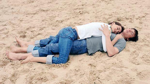 Paar am Strand