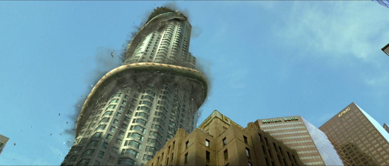 Erdbeben erschüttern Los Angeles. Sie erinnern den jungen Nachrichtenreporter Ethan an jene merkwürdige Episode aus seiner Kindheit, als ihm ein A... - Bildquelle: Sony 2007 CPT Holdings, Inc.  All Rights Reserved