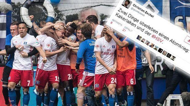 HSV Twitterreaktionen