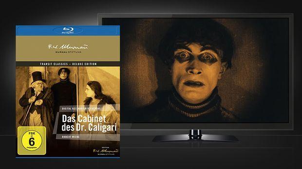 Das Cabinet des Dr. Caligari - Blu-ray © Universum Film / Transit