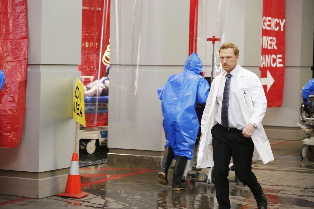 Eine große Explosion in einer Shopping Mall fordert viele Opfer. Owen (Kevin McKidd) und seine Kollegen geben alles, um Leben zu retten ... - Bildquelle: ABC Studios