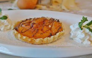 Obstkuchen-Aprikose