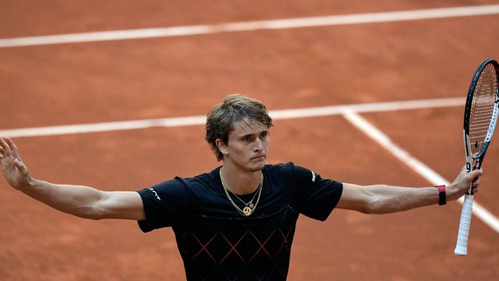 Zverev trifft im Halbfinale auf Shapovalov - Bildquelle: AFPSIDOSCAR DEL POZO
