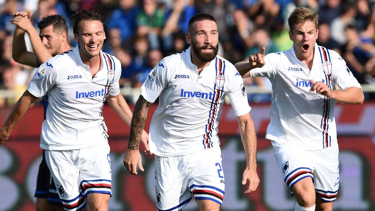 Platz 3: Sampdoria Genua (Italien) - Bildquelle: Imago