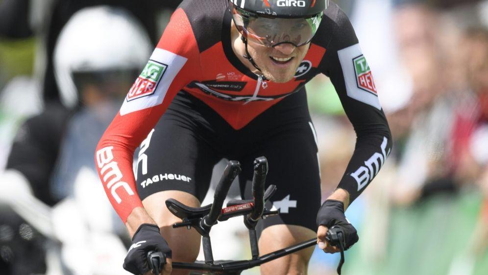 Sieger beim Zeitfahren: Tejay Van Garderen - Bildquelle: AFPSIDFABRICE COFFRINI
