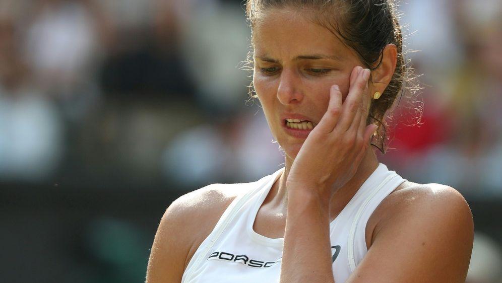 Julia Görges hat das Viertelfinale von Montreal verpasst - Bildquelle: PIXATHLONPIXATHLONSID