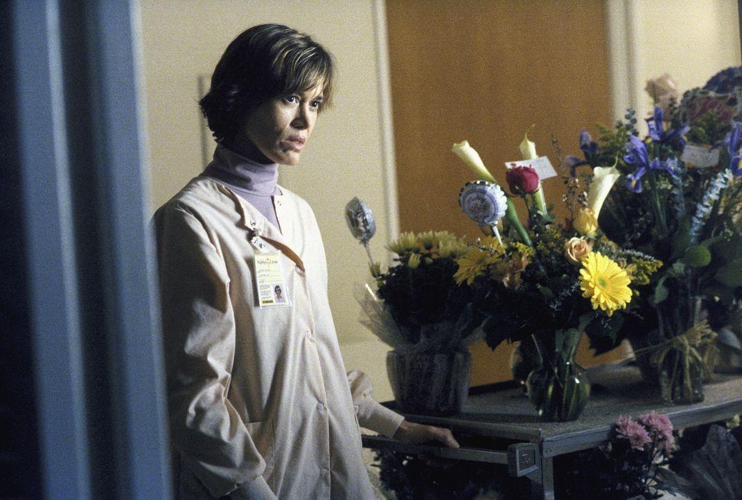 Im Krankenzimmer von Monica taucht plötzlich Audrey Pauley (Tracey Ellis) auf, die offenbar ein besonderes Verhältnis zu ihr aufgebaut hat. - Bildquelle: TM +   Twentieth Century Fox Film Corporation. All Rights Reserved.