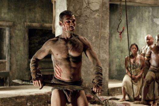 Spartacus: Blood and Sand - Nachdem Spartacus (Andy Whitfield) durch die Nied...