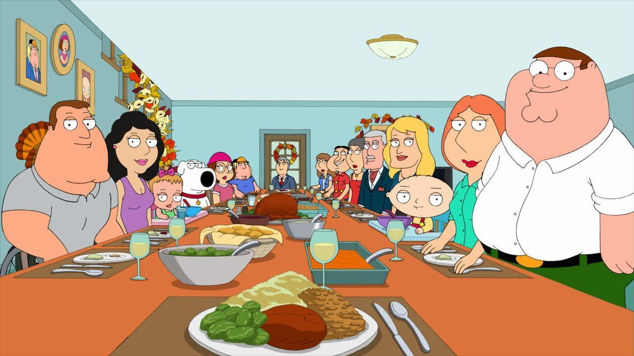 Als die Griffins mit der Familie und Freunden Thanksgiving feiern, passiert etwas ganz Wunderbares ... - Bildquelle: 2011 Twentieth Century Fox Film Corporation. All rights reserved.
