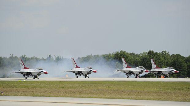 Pilot Wayne Boggs ist einer der erfahrensten Air Bosse der USA. Für die belie...