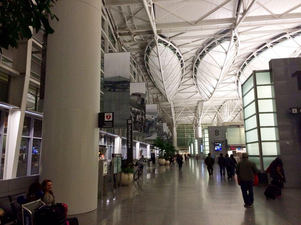 Nach einem 12h-Flug ist unser Team in San Francisco gelandet