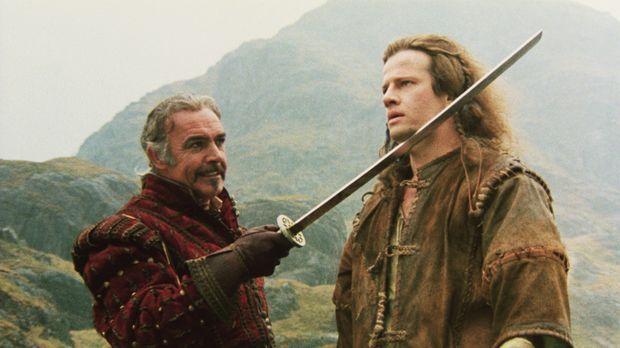 Im Kampf gegen den dämonischen Barbaren Kurgan nimmt der weise Edelmann Ramir...