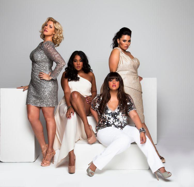 (1. Staffel) -Diese vier Frauen sind stolz auf ihre Kurven, doch das Modelbusiness ist auch bei den Plus-Size Modeln alles andere als einfach: Ivory... - Bildquelle: MMXII SiTv, Inc. All rights reserved.