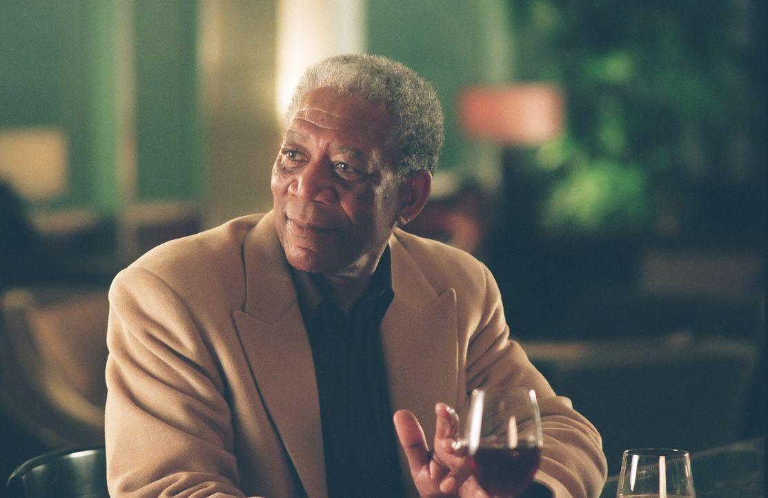 Nach der Diagnose Krebs möchte sich der Automechaniker Carter Chambers (Morgan Freeman) noch einige Wünsche erfüllen ... - Bildquelle: TM and   2007 Warner Bros. Entertainment Inc. All Rights Reserved.