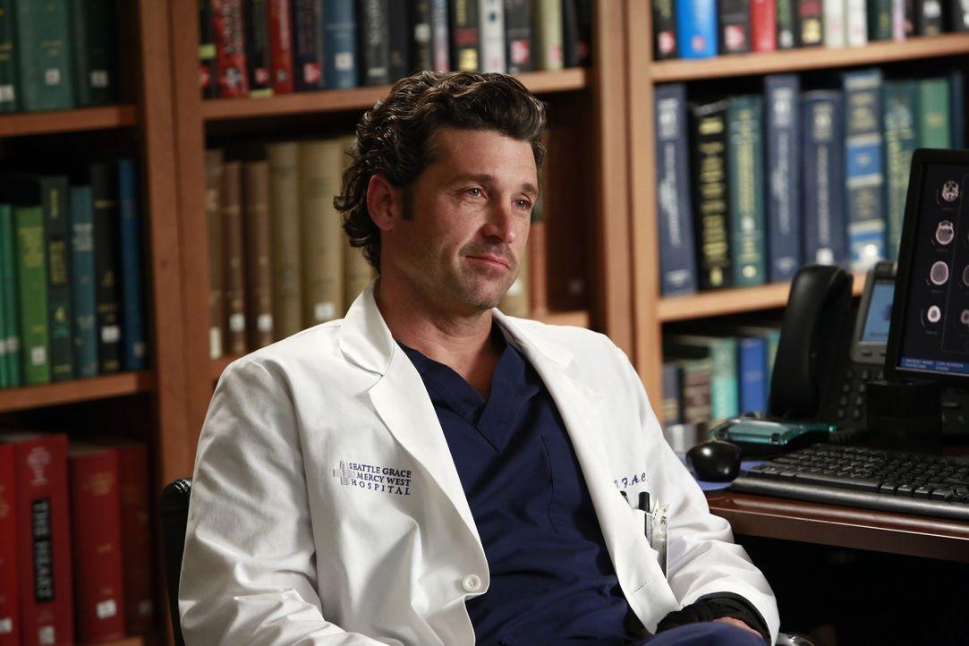 Wird er sich zu einer riskanten Operation überreden lassen? Derek (Patrick Dempsey) ... - Bildquelle: ABC Studios