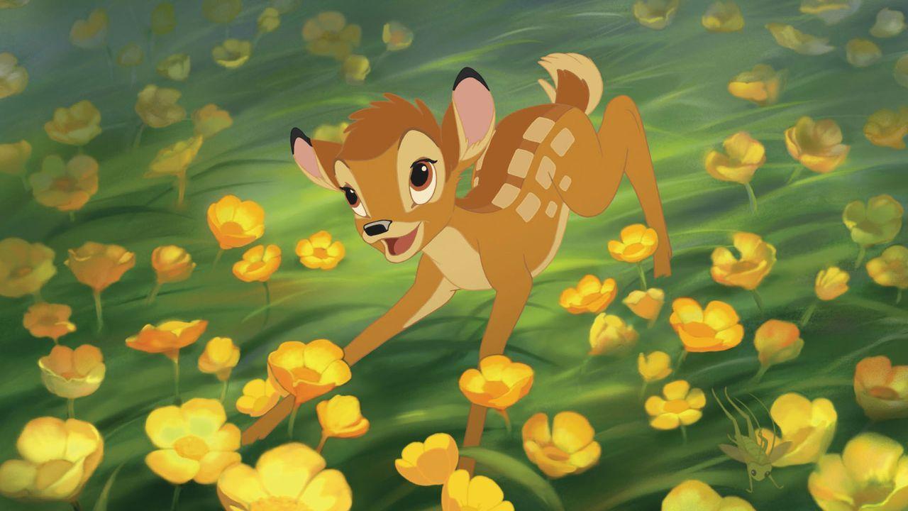Gemeinsam mit seinen Freunden erlebt Bambi neue Abenteuer ... - Bildquelle: Disney  All rights reserved