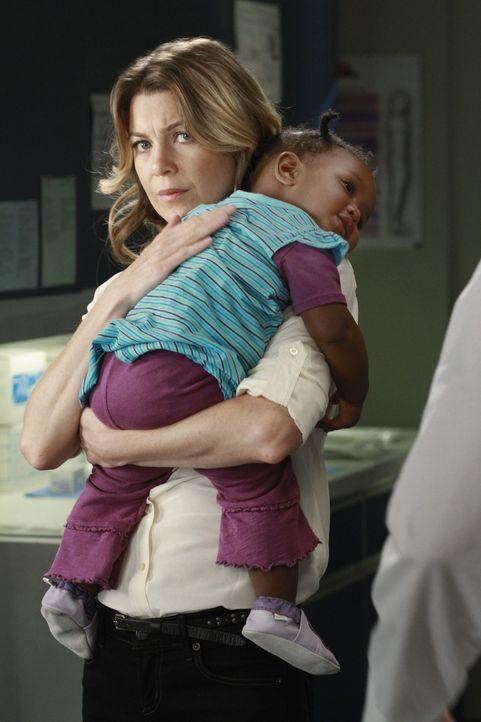 Muss Meredith (Ellen Pompeo, l.) Abschied von Zola nehmen, nach alldem was geschehen ist? - Bildquelle: ABC Studios