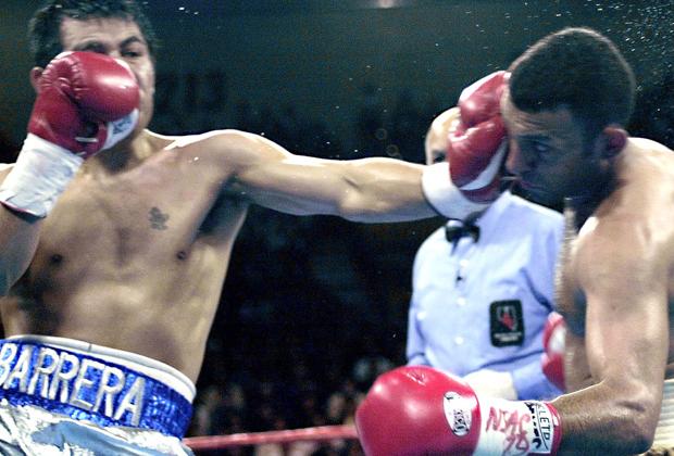 Marco Barrera vs. Naseem Hamed - Bildquelle: imago