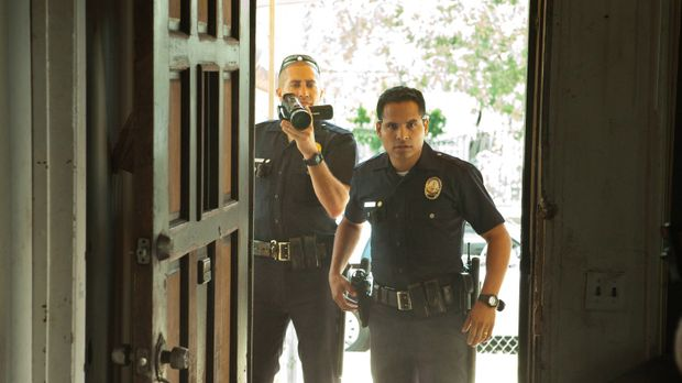 Ihr Alltag ist ein mörderischer Wahnsinn: Officer Brian Taylor (Jake Gyllenha...