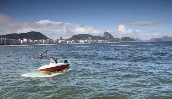 Die Bucht an der Copacabana - Bildquelle: kabel eins
