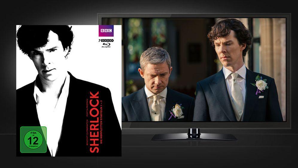 Sherlock - Staffel 1-3 - Bildquelle: BBC / Polyband