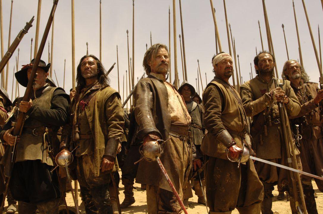 Auf in den Kampf! Alatriste (Viggo Mortensen, M.) ... - Bildquelle: José Haro TF1 International