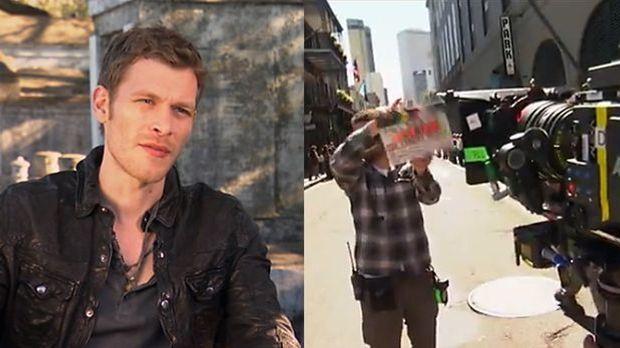 Das Making of-Video zu The Originals gibt erste Einblicke ins Set.