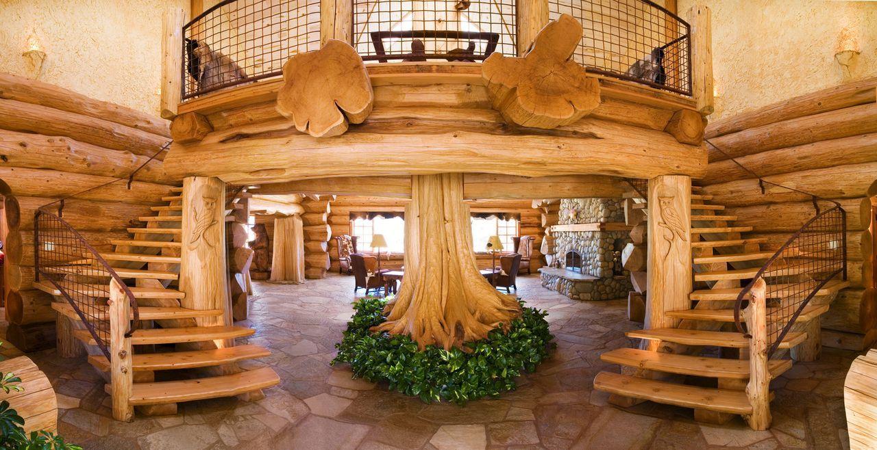 (1. Staffel) - Bei Timber Kings geht es nur um Holz, denn die Häuser, die diese Handwerker bauen, bestehen komplett aus diesem Material ... - Bildquelle: Paperny Entertainment 2014