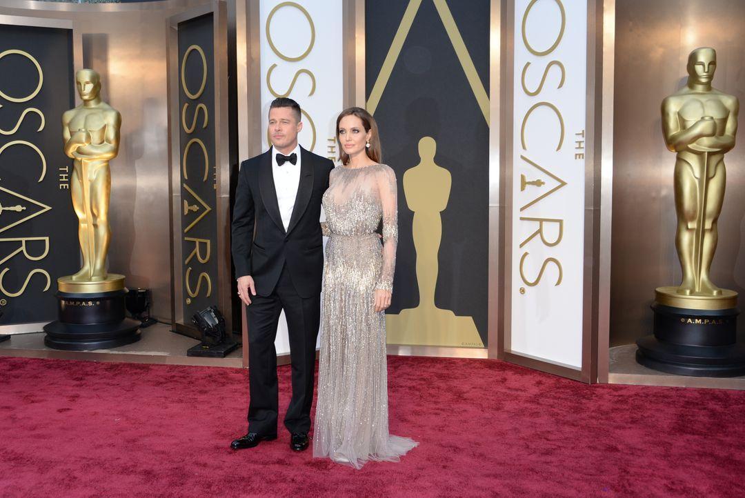 Angelina Jolie und Brad Pitt - Bildquelle: getty AFP