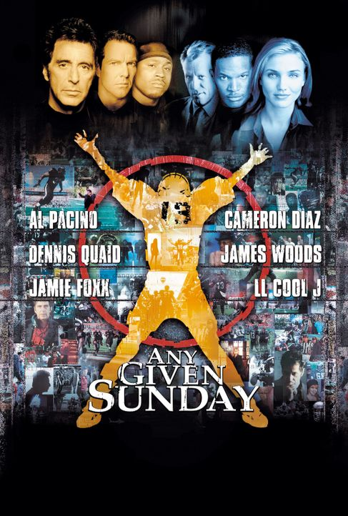 An jedem verdammten Sonntag - Plakatmotiv - Bildquelle: Warner Brothers