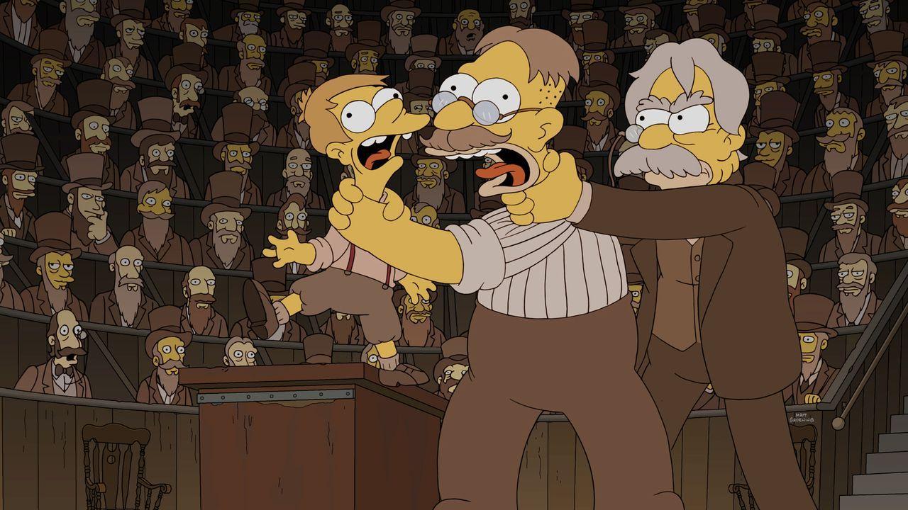 Bei den Simpsons lastet von Generation zu Generation eine Last auf den Schultern, da jeder befürchtet, aus seinem Kind würde nichts werden ... - Bildquelle: 2016-2017 Fox and its related entities. All rights reserved.