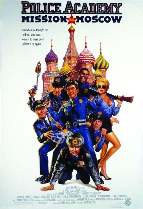 POLICE ACADEMY 7 - MISSION IN MOSKAU - Plakatmotiv - Bildquelle: Warner Bros.