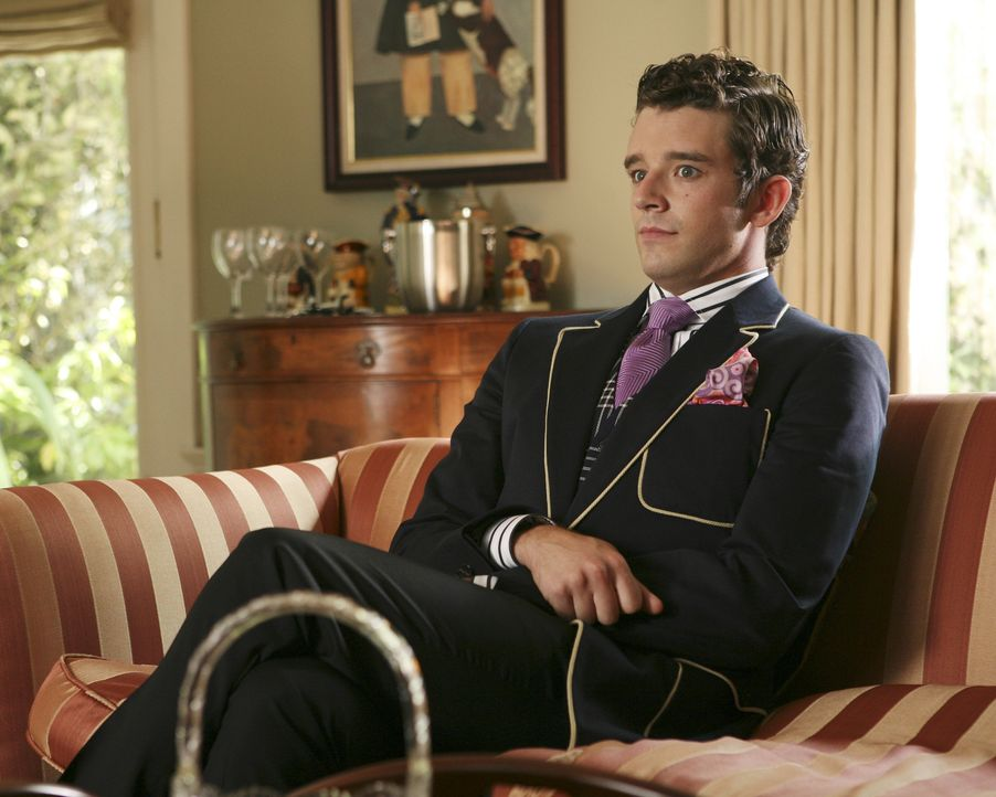 Hat eine Idee: Marc St. James (Michael Urie) ... - Bildquelle: Buena Vista International Television