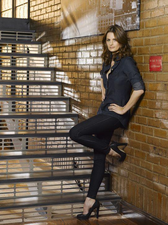 (3. Staffel) - Arbeitet strickt nach Regeln der Polizei: Kate Beckett (Stana Katic) - Bildquelle: ABC Studios