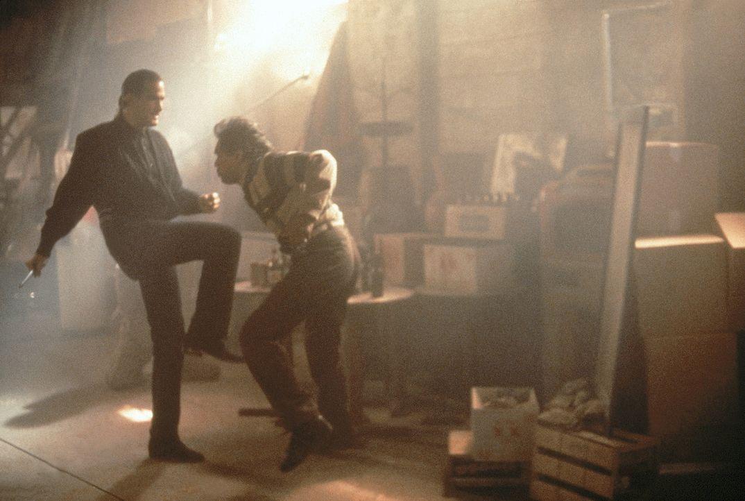 Im Kampf gegen die skrupellosen Drogengangster: John Hatcher (Steven Seagal, l.) ... - Bildquelle: 1990 Twentieth Century Fox Film Corporation.