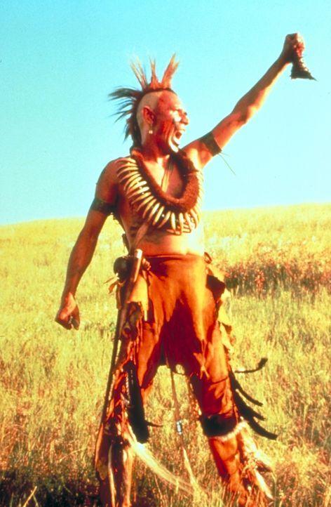 Die kriegslüsternen Pawnee-Indianer (Wes Study) sind die gefährlichsten Feinde der Sioux. - Bildquelle: Orion Pictures Corporation