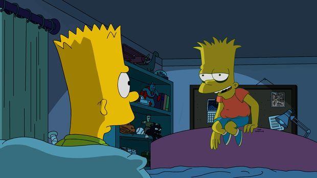 Nachdem Bart (l.) Lisa betrogen hat, bekommt er die Quittung dafür ... © 2016...