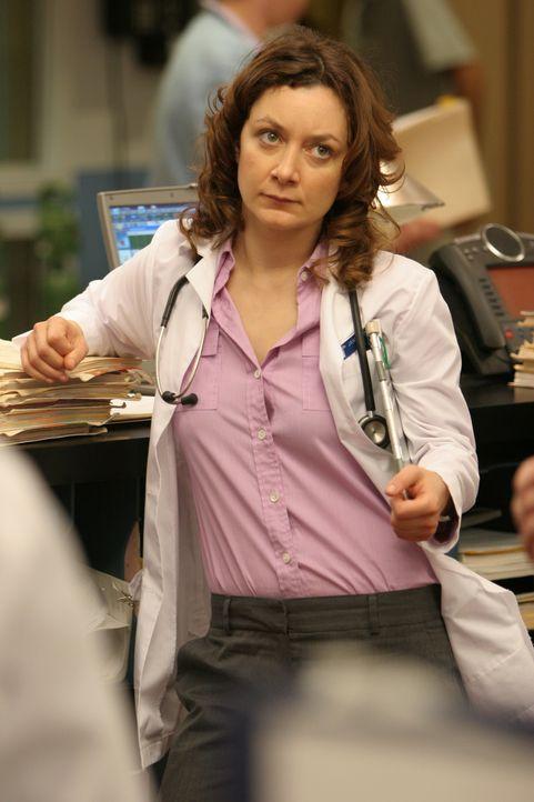 Ist gewillt Leben zu retten: Jane (Sara Gilbert) ... - Bildquelle: Warner Bros. Television