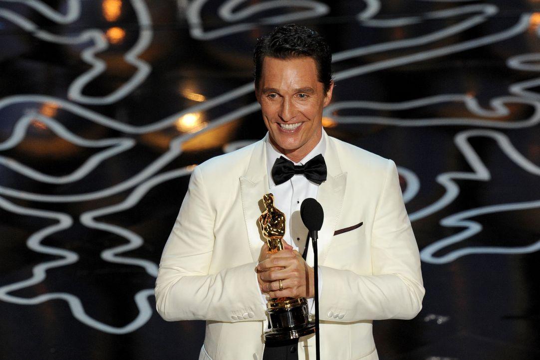 Matthew McConaughy Oscar - Bildquelle: getty AFP