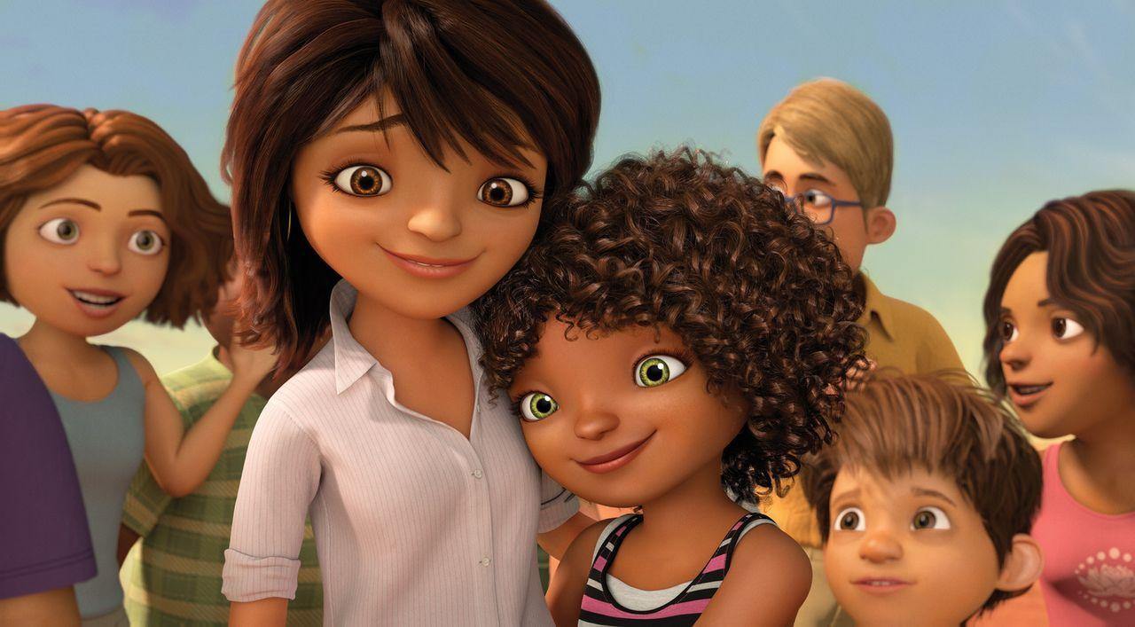 Die Boovs machen die Erde zu ihrem neuen Heimatplaneten und beginnen damit, alles neu zu organisieren. Die Menschen werden unfreiwillig umgesiedelt.... - Bildquelle: 2015 DreamWorks Animation, L.L.C.  All rights reserved.