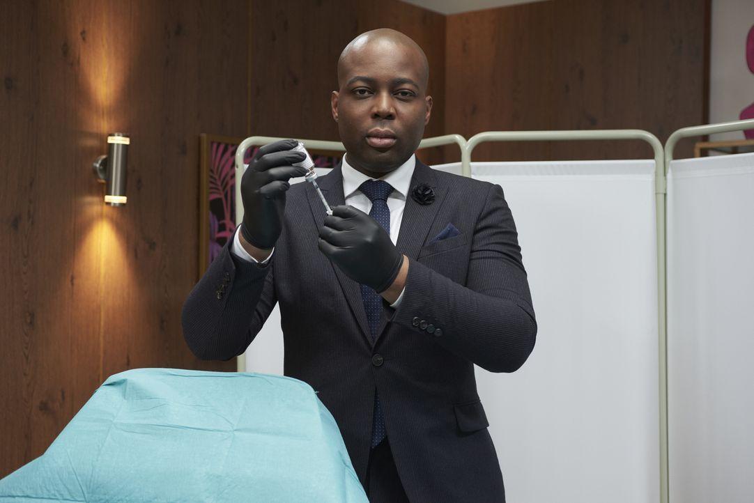 (1. Staffel) - Schönheitschirurg Dr. Esho springt ein, wenn die Dinge den einen Schritt zu weit gegangen sind und die herkömmliche Kosmetik nicht me... - Bildquelle: Studio Lambert & all3media Int.