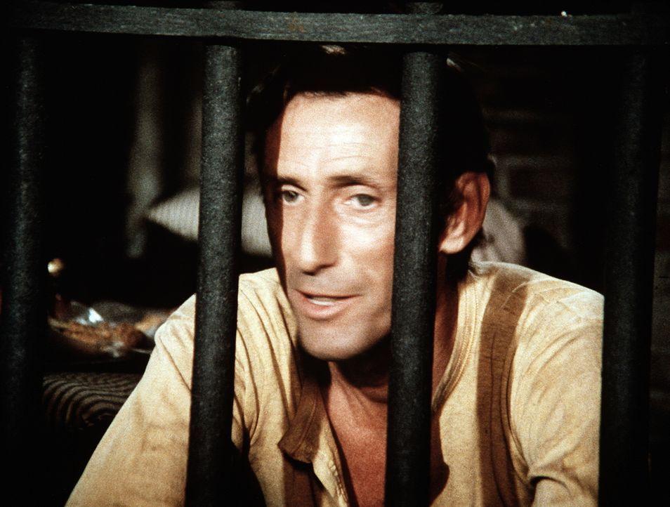 Yancy Tucker (Robert Donner) sitzt wegen Hühnerdiebstahls im Gefängnis. Er muss all seine Redekünste einsetzen, um wieder herauszukommen ... - Bildquelle: WARNER BROS. INTERNATIONAL TELEVISION