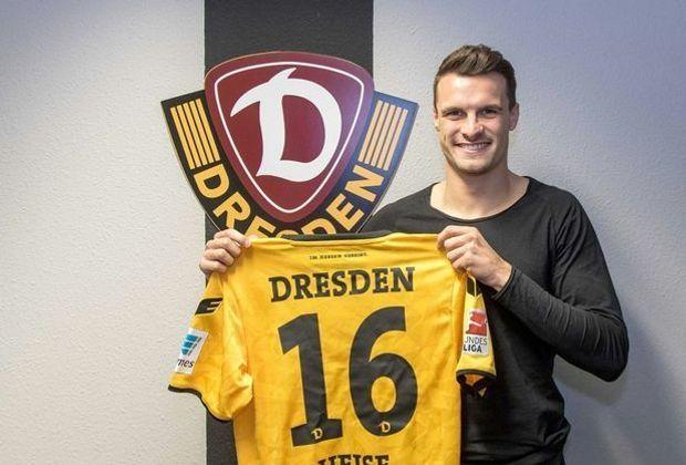 Dynamo Dresden verpflichtet Philip Heise