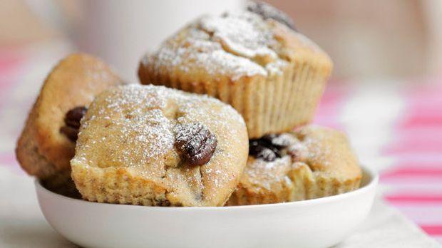 Süße Mini-Muffins mit Äpfeln