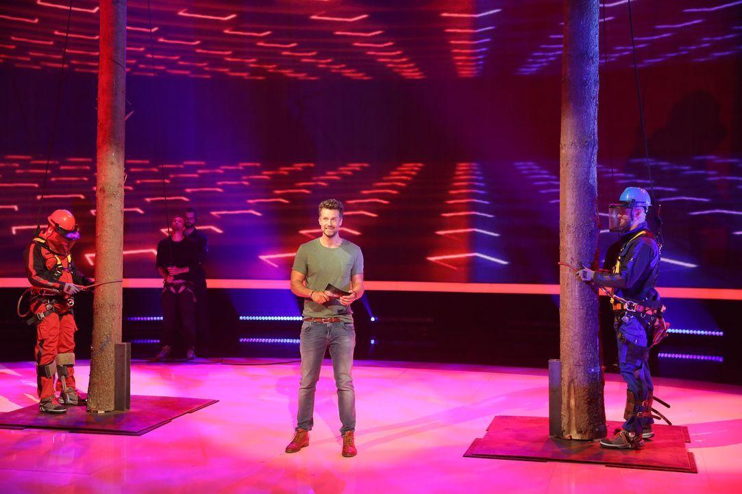 """In einer neuen Folge """"Ran an den Mann - Hält er, was sie verspricht?"""" treten Sebastian (l.) und Marcel (r.) gegeneinander an. Doch wer hat am Ende d... - Bildquelle: Guido Engels SAT.1"""