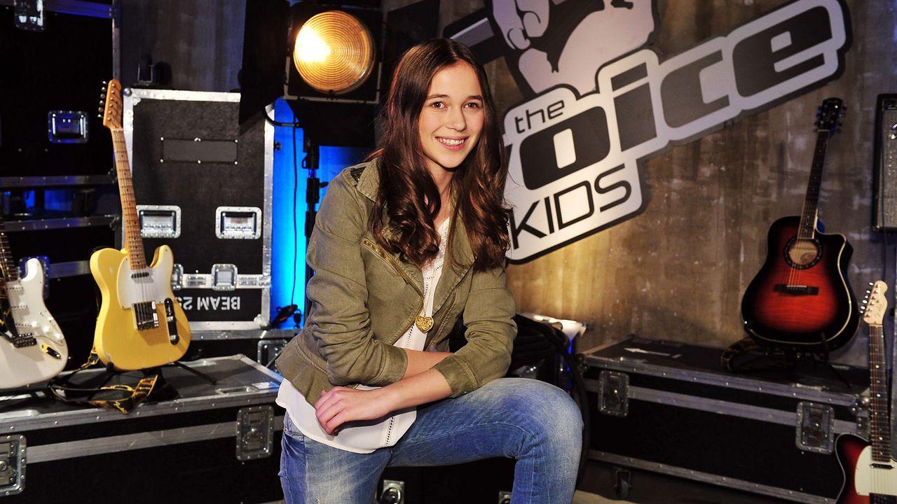 The-Voice-Kids-Stf02-Epi05-Hanna-9-SAT1-Andre-Kowalski - Bildquelle: SAT.1/Andre Kowalski