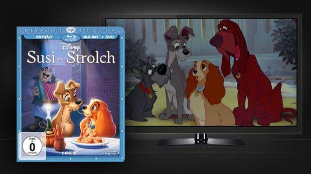 DVD-Susi-und-Strolch 820 x 461 © Universum Film